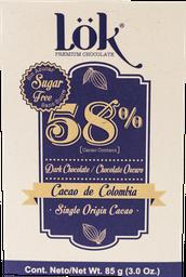 Chocolate Lök 58% Sin Azúcar