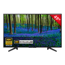 Tv 4K Ultra Hd Smart Tv 49 Pulgadas Kd-49X727F