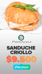 🥪 Sandwich Criollo