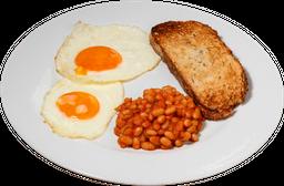 Desayuno Frijoles al Pomodoro