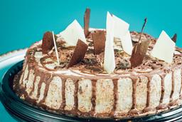 Genovesa de Chocolate y Milo 1/2 Lb 12 porciones