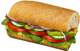 Sándwich Sub Vegetariano