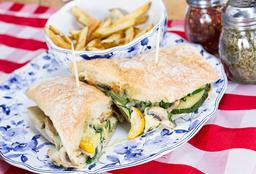 Sándwich de Jamón y Peras