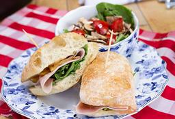 Sándwich de Vegetales Asados