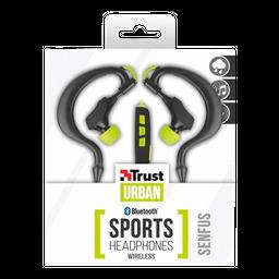 Audifonos Trust Senfus Bluetooth Sport Neg-Vde (In-Ear)