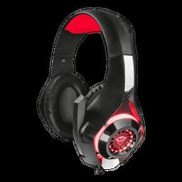 Audifono Diadema Gamer Trust Gxt 313 Nero Iluminated Negro