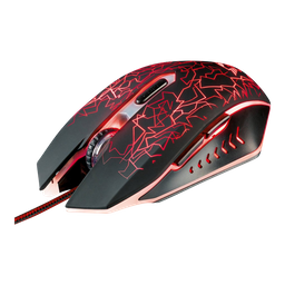 Mouse Gamer Trust Gxt 105 Alambrico Usb Negro