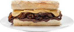 Steak Onion Sándwich