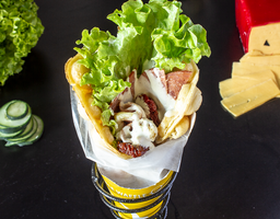 Bubble Waffle Salado Olé