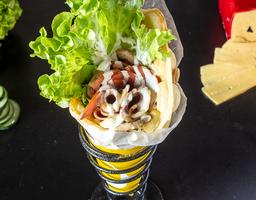 Bubble Waffle Salado Mama Mía