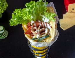 Bubble Waffle Salado Clásico