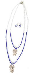 Collar Doble Precolombino Con Rondelasrefe. CCL2441