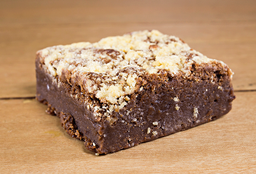 Brownie con Galletas Crumble