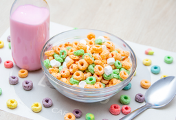 Apple Jacks con Marshmallwos