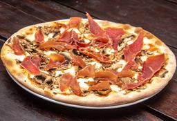 Pizza Funghi E Prosciutto