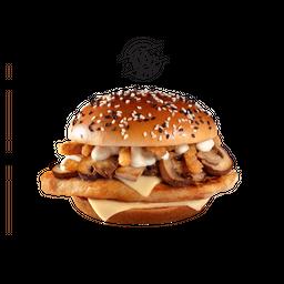🍔 Champiñon Deluxe con Pollo Grill