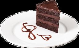 Torta de Trufas de Chocolate