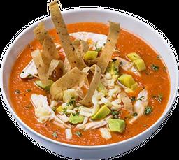 🥣 1/2 Sopa Mexicana + Conos Fajita Mexicana