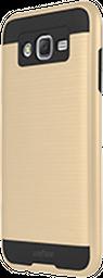 Estuche Forro Samsung J5 Wefone Dual Dorado Negro