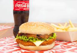 🍔Combo Hamburguesa de Pollo Krunch