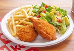 🍗Kombo 2 Presas de Pollo Apanado