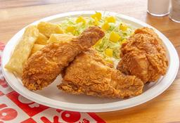 🍗Kombo 3 Presas de Pollo Apanado