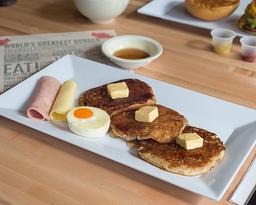 Pancakes con queso🥞🧀