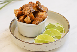 Chicharroncitos con Limón