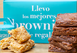 Caja de Brownies o Blondies