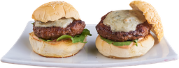 Queso Azul Angus Beef Burgers