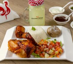 Lunch Chicken + Bebida