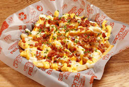 Pulled Pork Cheese Bacon Fries