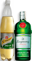 Rappicombo Schweppes Ginger Ale + Ginebra Tanqueray