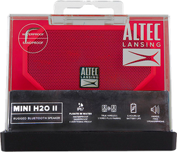 Parlante Portable Bluetooth Altec H20 Mini IP67 Naranja