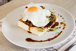🥩Kayser a Caballo Almuerzo (Leve de picante)🌶