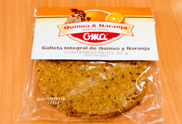 🍪 Galletas Integral Quinua & Naranja 🍊