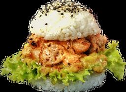 Sushi Burger Tuna Sriracha Sour