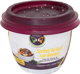 Sorbet de Acai Banano 100 ml