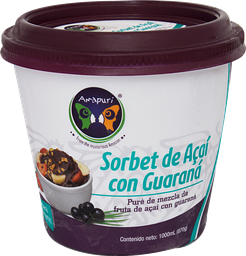 Sorbet de Acai Guaraná 1000 ml