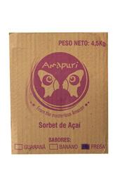 Sorbet de Acai Fresa 5000 ml