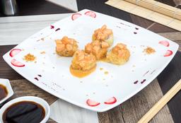 Sushi salmón Tartar.