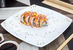Sushi salmón Maki.