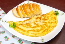 Omelette de Maíz y Jamón