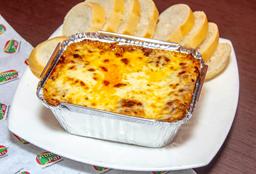 Lasagna de Pollo y Champiñones