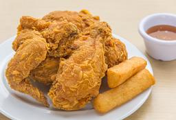 Medio Pollo Apanado