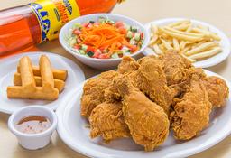 🍗Combo Pollo Apanado Para Compartir