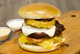 Hamburguesa Americana en Combo