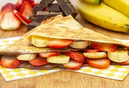 Crepe fresa y banano