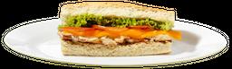 Sándwich Pollo Carbonara