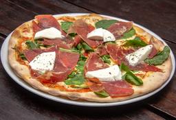 Pizza + Gaseosa y postre